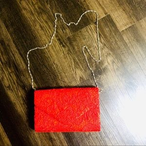 Brand New Red Clutch/Purse